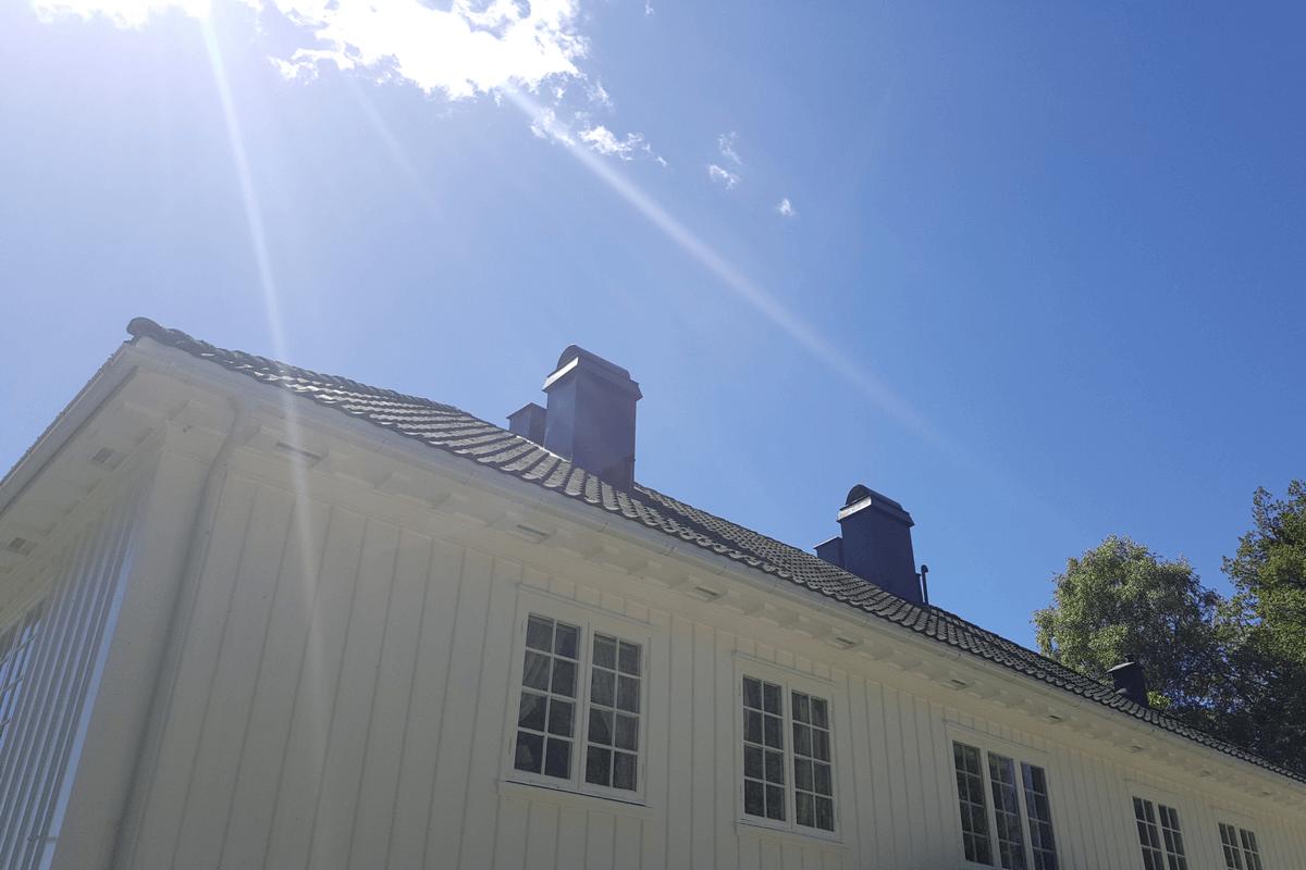 Maling av hus og takarbeid i Asker