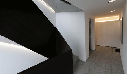 Oppussing, maling av trappeløp og oppganger